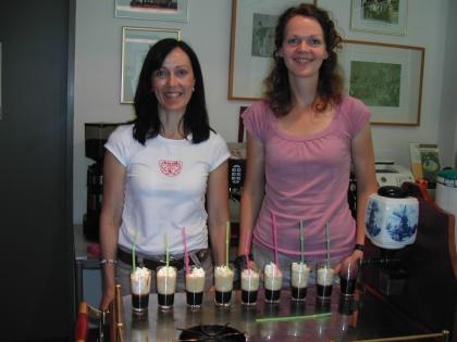 Marion Breithaupt aus Moos am Bodensee und Isabel Rupprath-Babik aus Linz haben das Rezept hervorragend zubereitet und somit den Test erfolgreich bestanden.