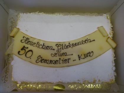 Konditorei Groissböck sponserte eine leckere Torte!
