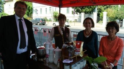 Hr. Markus Madar, MAS; Fr. Dr. Alexandra Suchomel; Fr. Sandra Howanietz und Fr. FSOL Ing. Anna Detschmann