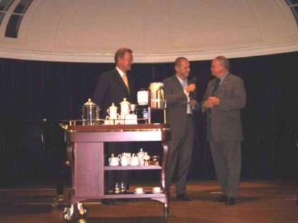 Gen. Dir. L. Wallner, Dr. P. Resetarits, HR. Dir. Prof. Franz Zodl
