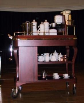 Kaffeesommelier-Wagen