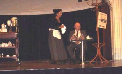 Julia Busch-Torbov, Volksoper Wien am Klavier ihre Schwester Clara