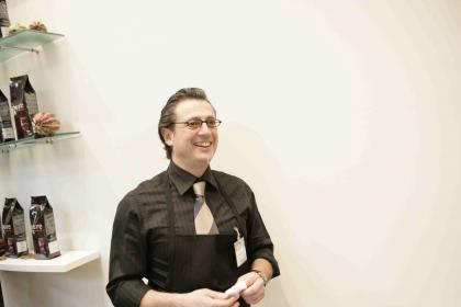 Graziano Chessa  Chef-Diplom.Kaffeesommelier   Gewinner der Deutschen Barista Meisterschaft 2006