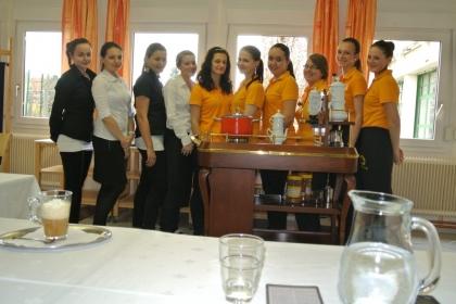 Erste Kaffee-Kennerinnen der Fachschule Andorf