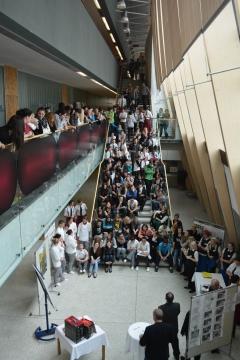 Die Veranstaltung wurden von ca. 200 SchülerInnen besucht.