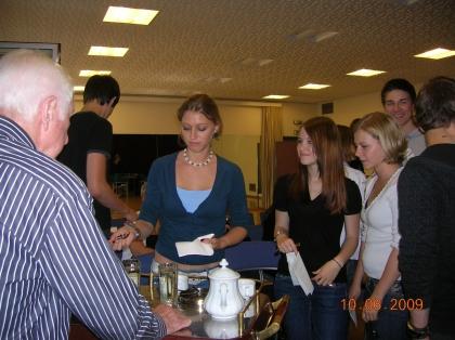 Exkursion der HLW Biedermannsdorf nach Wien ins Institut für Kaffee-Experten-Ausbildung