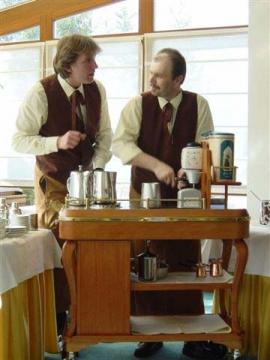 Franz Kornek (Diplom-Kaffeesommelier), Hans Martin Simon (Chef-Diplom-Kaffeesommelier)