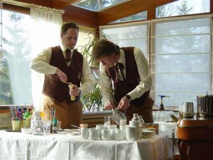 Peter Steininger (Chef-Diplom-Kaffeesommelier), Franz Kornek (Diplom-Kaffeesommelier)
