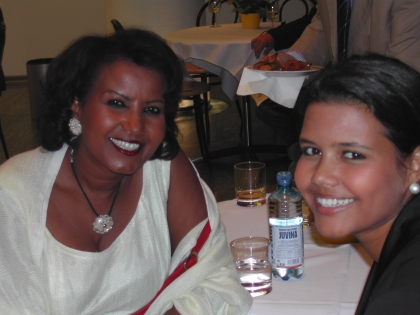 Almaz Böhm mit ihrer Tochter Aida