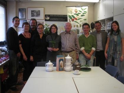 Das Team von NHK, Büro Wien, und das Team um Prof.Edelbauer