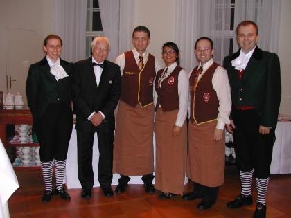 Fr. Simon, Prof. Edelbauer, Hr. Mikulovic, Fr. Mihailovic, Hr. Heschl, Hr. Simon