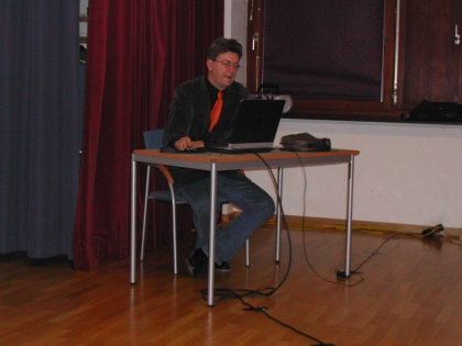 Prof. Knasmüller berichtete über die interessanten Erkennntisse aus der Forschungsarbeit an seinem Institut.