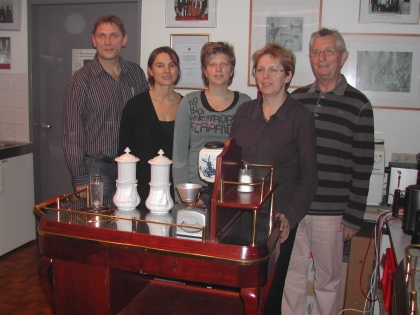 Sehr engagierte Teilnehmer:  Peter Donner, Beate Gusner-Hainisch, Dr. Alexandra Suchomel, Marianne Kraßort, Hans Kraßort
