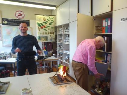 Chef-Dipl.-Sommelier Stefan Parys & Prof. Leopold Edelbauer