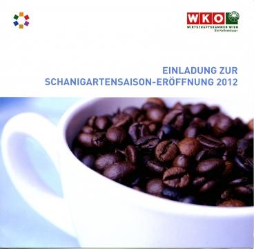Eröffnung der Schanigartensaison 2012 in der Kurkonditorei Oberlaa am Neuen Markt.