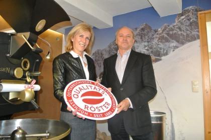 Fr. Chef.-Dipl.Sommeliére Renate Kammerlander und Hr. KommR Klaus Lackner (WK Tirol)