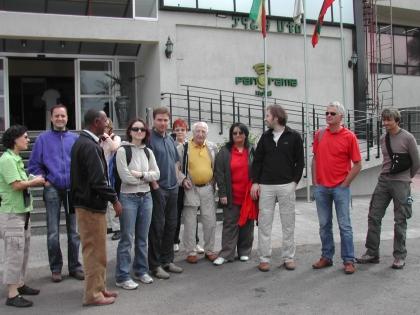 Ankunft im Hotel Panorama in Addis Abeba, eine neue, schöne Unterkunft
