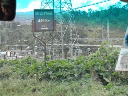 Bonga ist einer der wichtigen Kaffeeorte, 449 km von Addis Abeba entfernt.