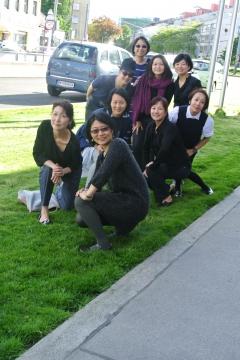 Taiwan-TeilnehmerInnen mit Fr.Cheng