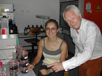 Dr.Bettina Isnardi, Prof.Leopold J.Edelbauer