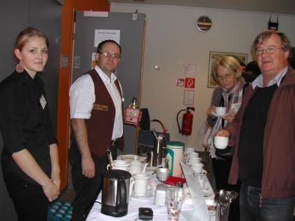 Schülerin der LWBFS Andorf; Chef.Dipl.Somm.Richard Heschl; Gäste