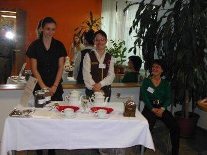 Schülerin der LWBFS; Chef.Dipl.Somm.Karin Weidinger-Strasser; Dipl.Somm. FSOL Ing.Anna Detschmann