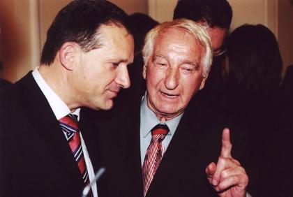 Innenminister Ernst Srasser