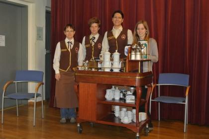 Karin Weidinger-Strasser; Dr. Alexandra Suchomel; Gerlinde Mock; Marion Horvath MSc.