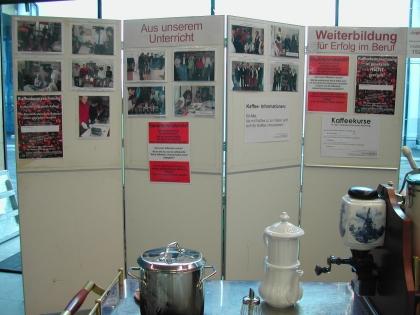 Messestand des Instituts für Kaffee-Experten-Ausbildung