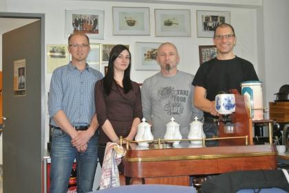 Hr.T.Krüger; Fr.I.Siegle; Hr.A.Münch; Hr.M.Witti  (53. Sommelier-Kurs)