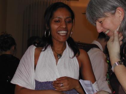 Auch Meron Schifraw aus Äthiopien gibt gerne Antworten auf Kaffeefragen.