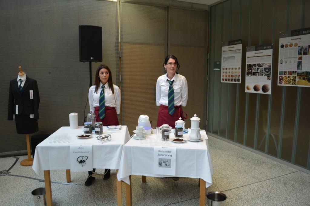 Die hochwertige Kaffeezubereitung in der Karlsbader Kanne.