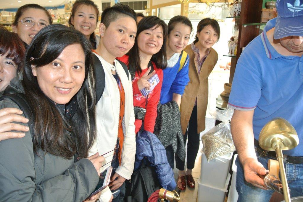 Taiwan-Kurs: Exkursion beim Röster