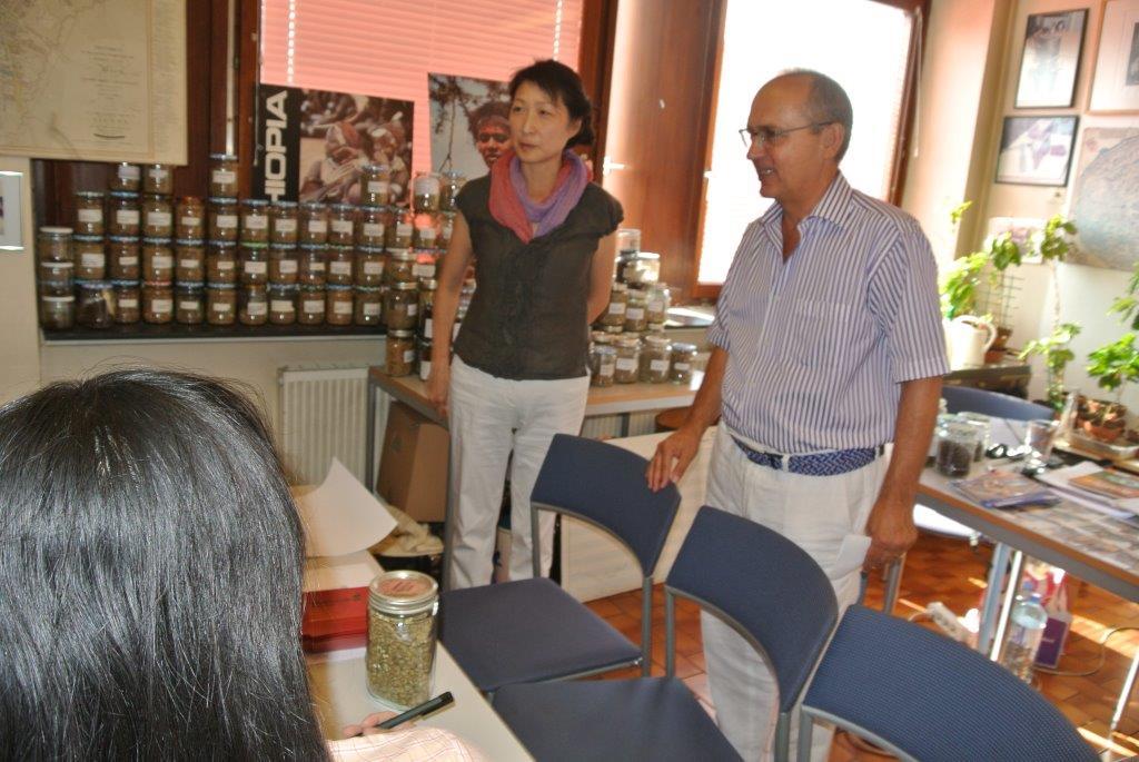 Frau Cheng, Herr Dr. Streibel