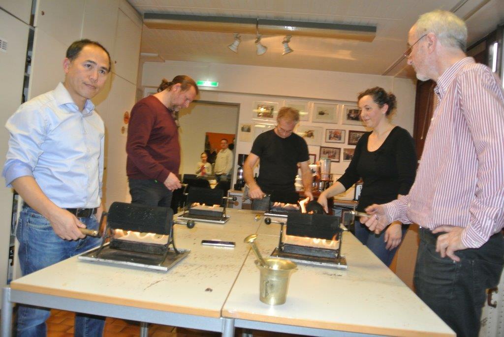 Die zweiten FÜNF: Herr Chi La, Herr M.Wagner, Herr St.Dellacher und noch einmal Frau A.Steinkellner  und Herr Dr. O.Schlappak